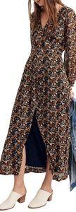 Madewell Nightflower maxi dress, size 6